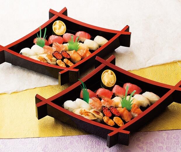 上にぎり寿司[二皿]