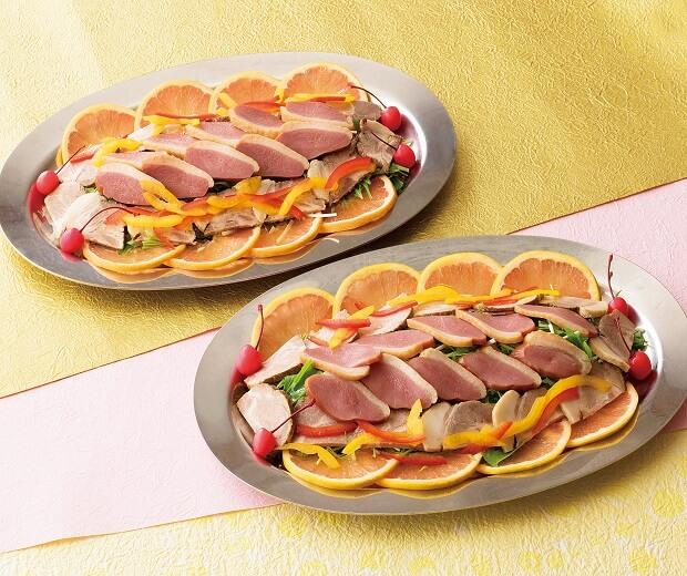 焼豚とスモーク[二皿]