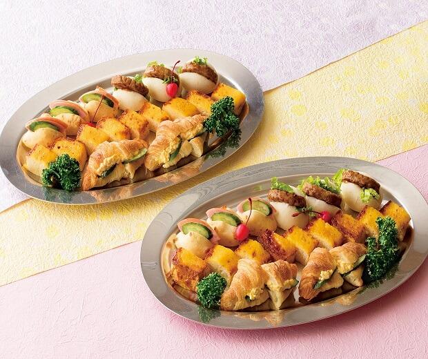 サンドイッチ&フレンチトースト[二皿]