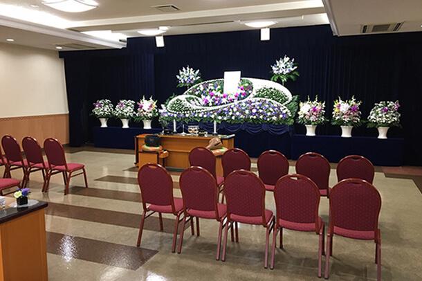 家族葬にも最適な式場