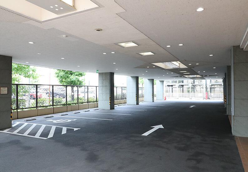 写真:平安会館みやうち駐車場