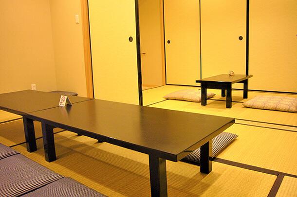 宿泊可能な親族控室
