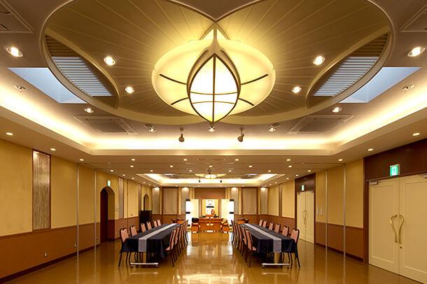 3F ピエス2.3 2部屋をつなげて利用できる会食スペース