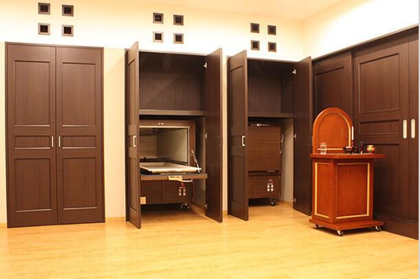 1Fコールドルーム(安置室)