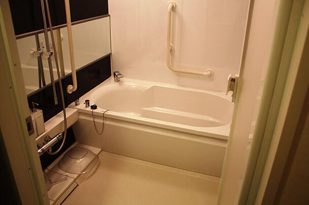 親族控室バスルーム