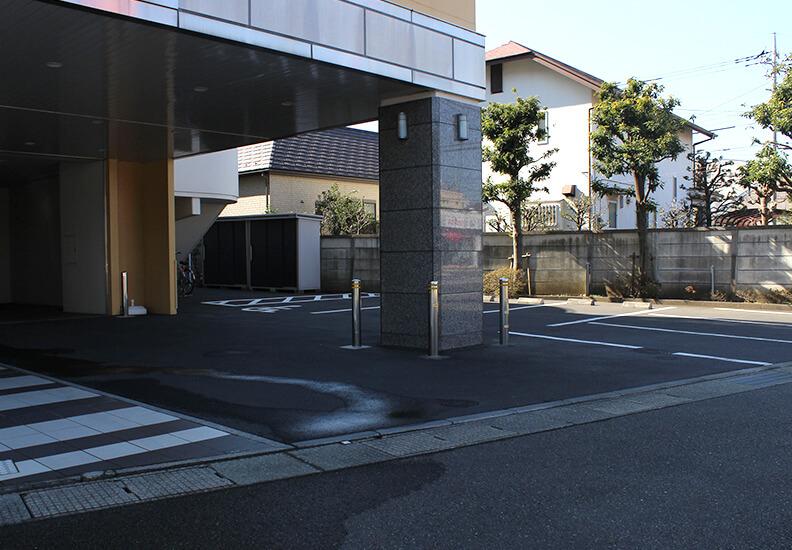 写真:平安会館たま駐車場