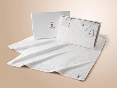 「名産今治」白の贅沢バスタオル