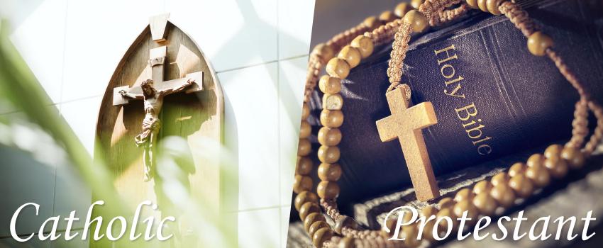 キリスト教の葬儀はカトリックかプロテスタントによって異なる